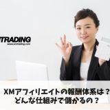 XMアフィリエイトの報酬体系は?どんな仕組みで儲かるの?